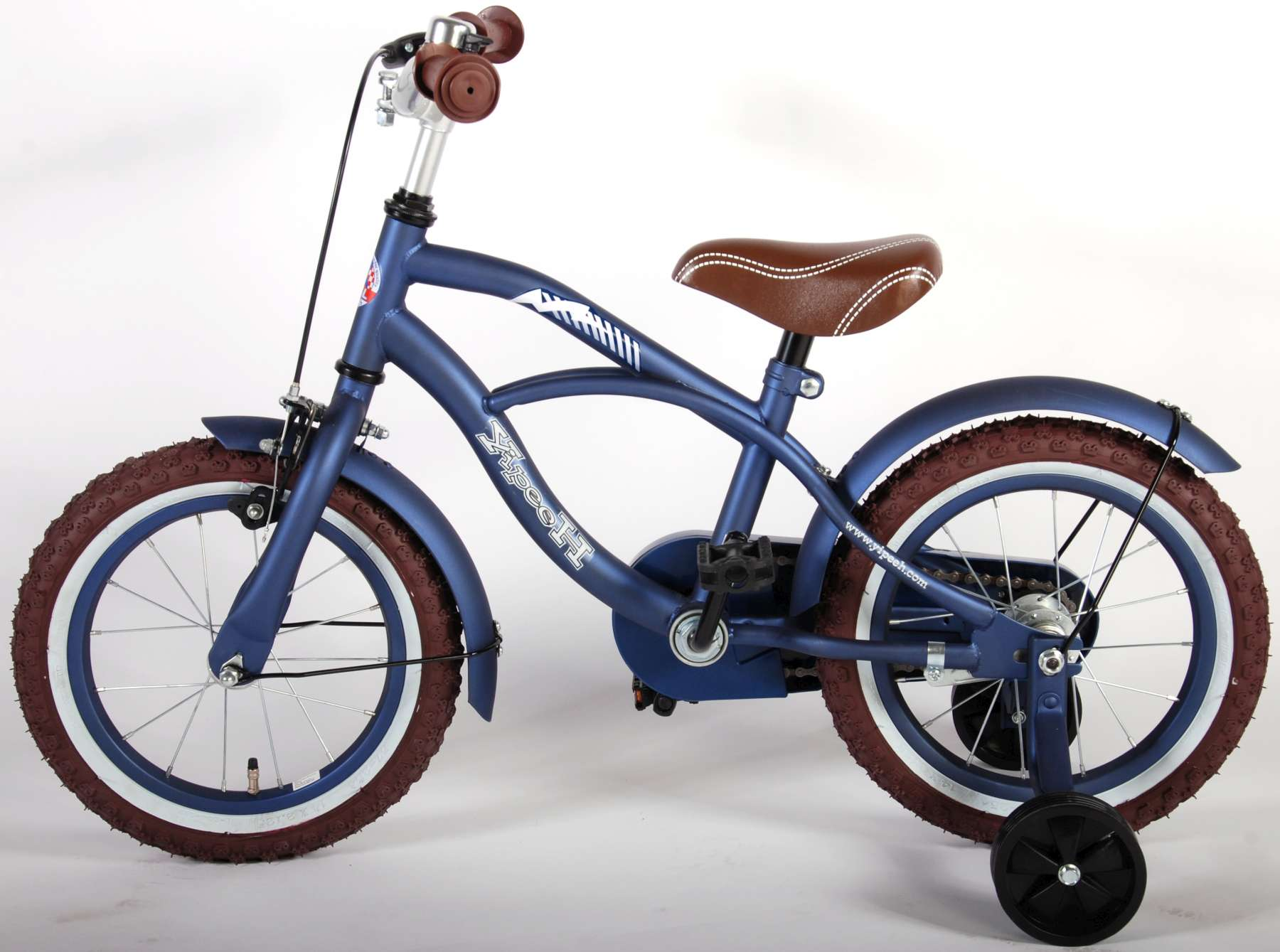 yipeeh blue cruiser kinderfahrrad 14 zoll. Black Bedroom Furniture Sets. Home Design Ideas