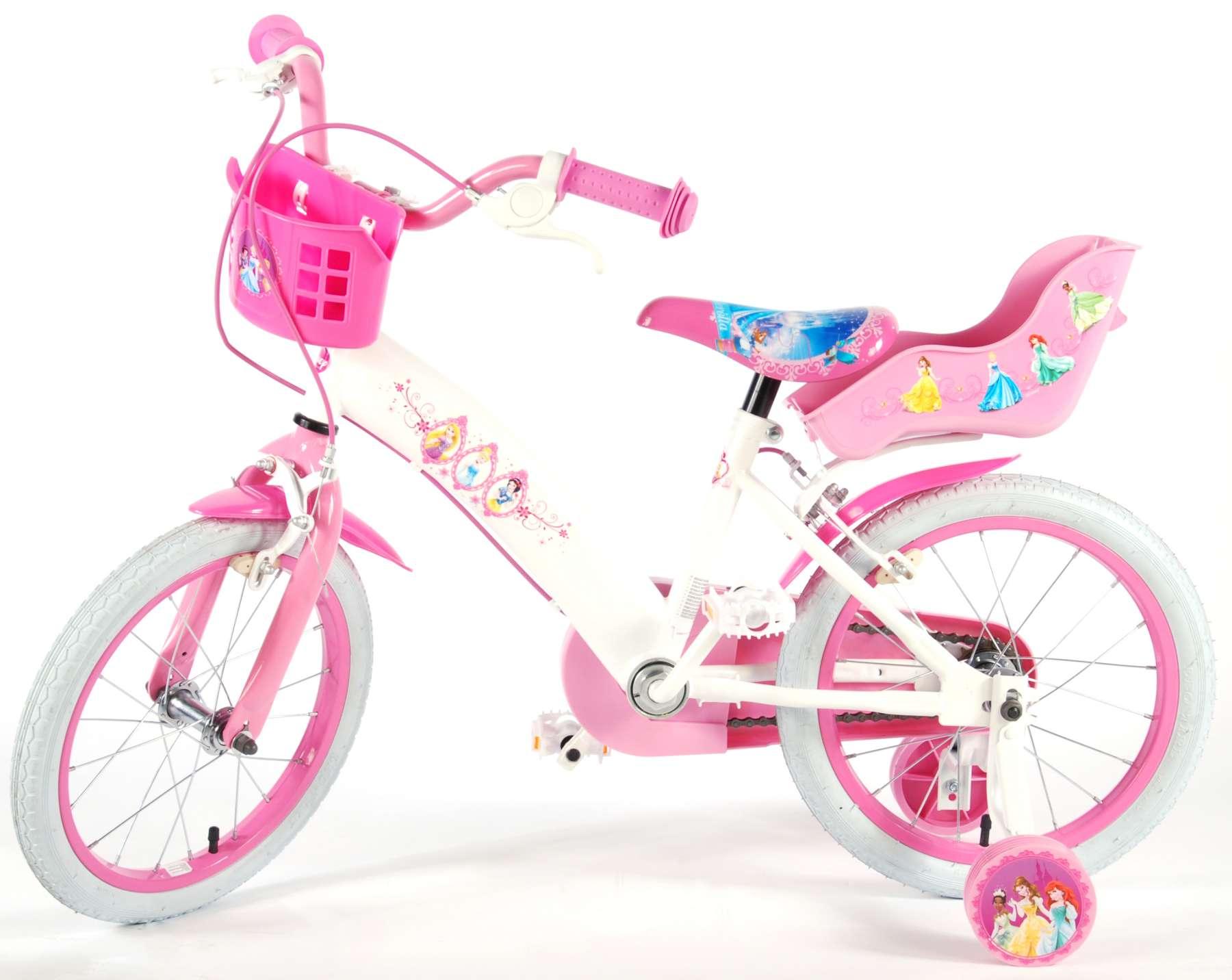 Rosa Pik/&Roll Prinzessin M/ädchen-Fahrrad 16 Zoll