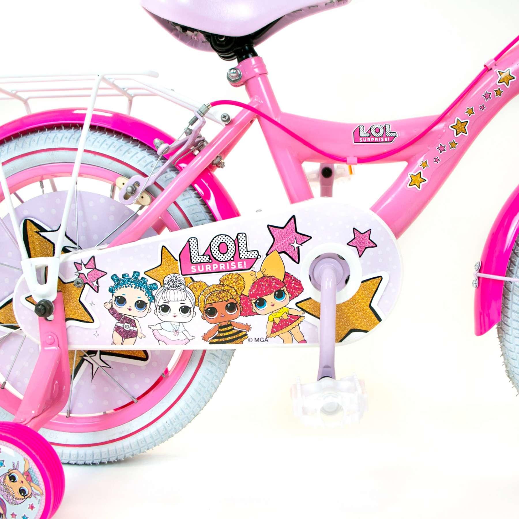 L.O.L Surprise Mädchen Kinder Fahrrad-Klingel
