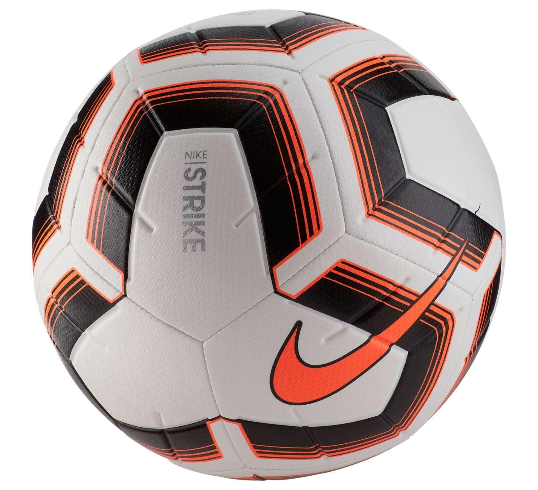 Fussball Nike Striker Team Weiss Schwarz Orange