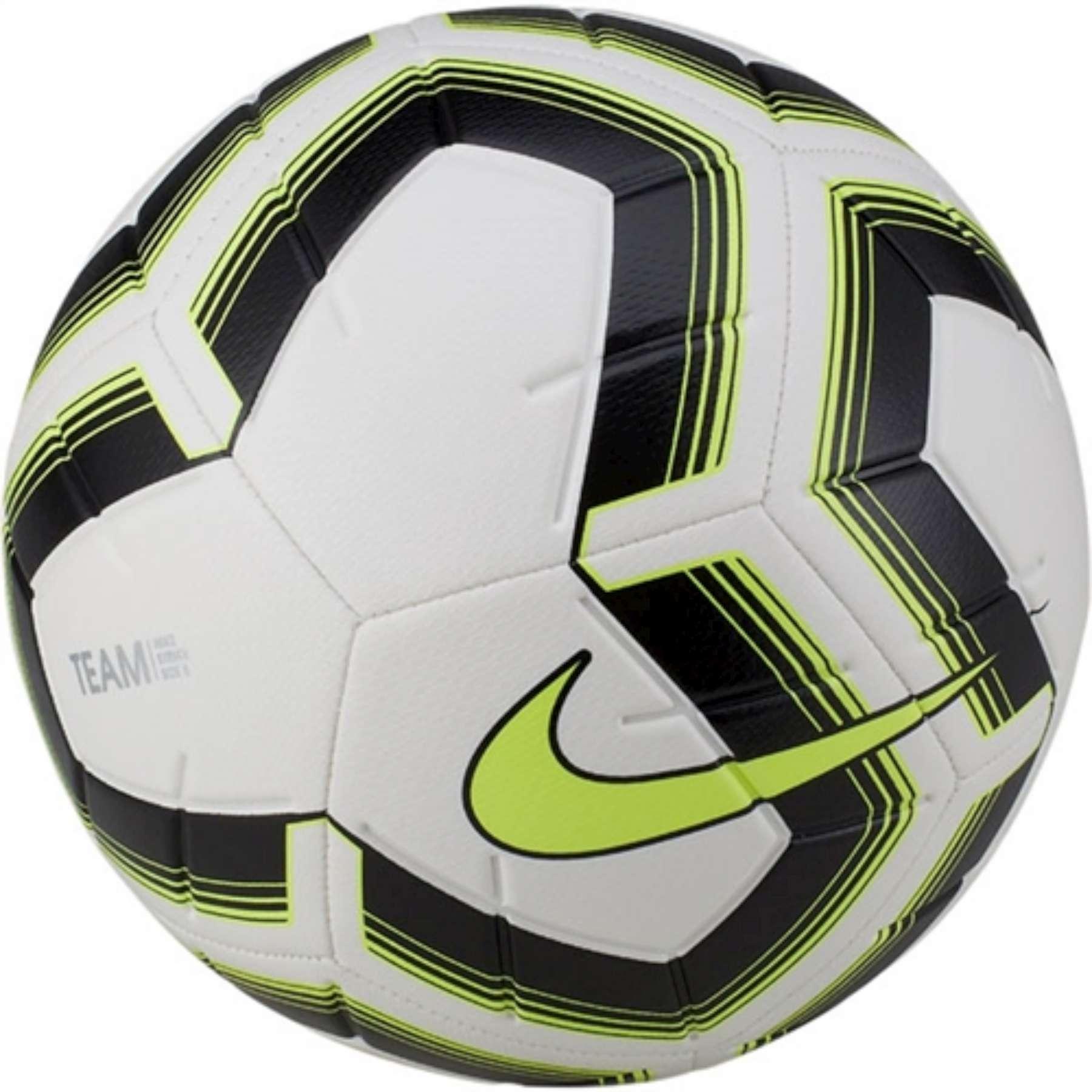 Fussball Nike Striker Team Weiss Schwarz Gelb