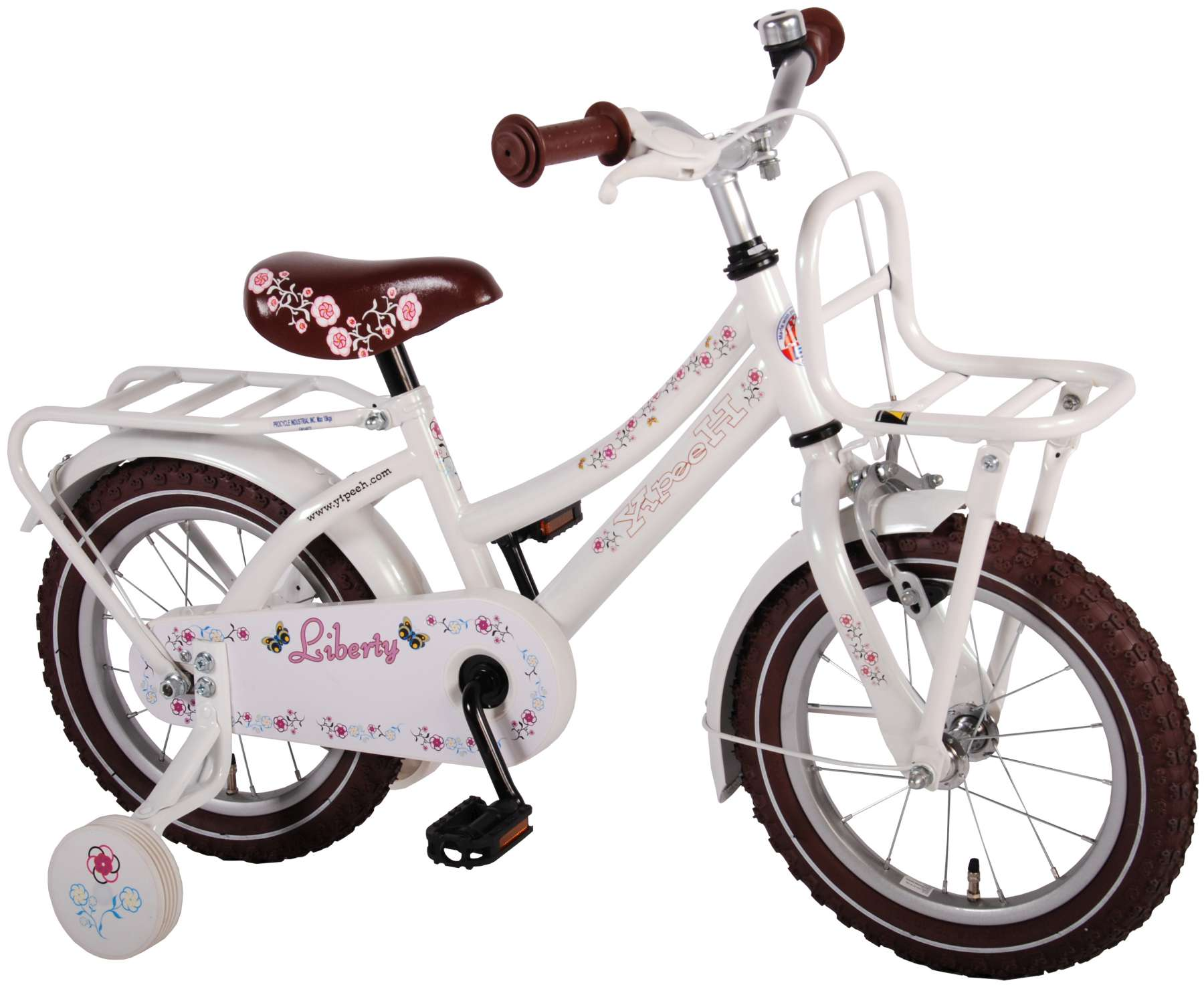 yipeeh liberty urban wei kinderfahrrad 14 zoll 95. Black Bedroom Furniture Sets. Home Design Ideas