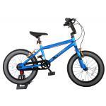 Volare Cool Rider Kinderfahrrad - Jungen - 16 Zoll - Blau - Zweihandbremsen - 95% zusammengebaut