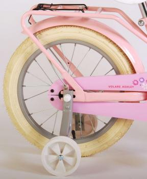 Volare Ashley Kinderfahrrad - Mädchen - 16 Zoll - Rosa - 95% zusammengebaut