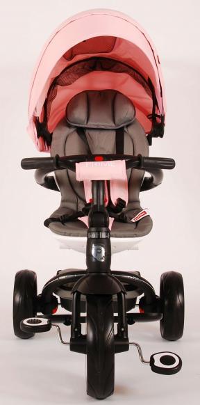 Qplay Dreirad Prime 4 in 1 pink