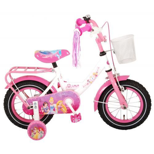 Disney Princess Kinderfahrrad - Mädchen - 12 Zoll - Pink - 95% montiert