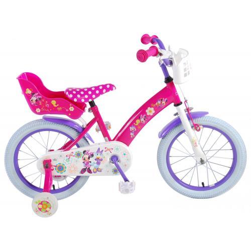 Disney Minnie Bow-Tique Kinderfahrrad - Mädchen - 16 Zoll - Pink