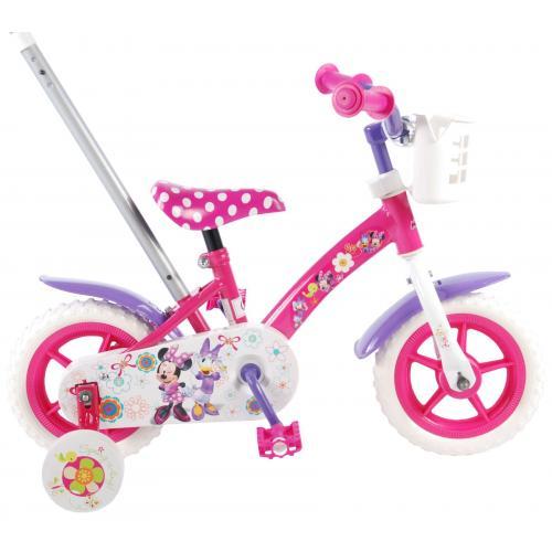 Disney Minnie Bow-Tique Kinderfahrrad - Mädchen - 10 Zoll - Pink / Weiß / Lila