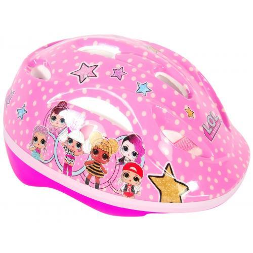 LOL Überraschungs-Radhelm für Mädchen - Skate-Helm 51-55 cm