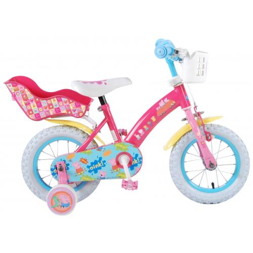 Peppa Pig Kinderfahrrad - Mädchen - 12 Zoll - Pink