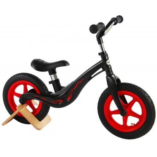 V Volare Magnesium Balance Bike - Jungen und Mädchen - 12 Zoll - Schwarz