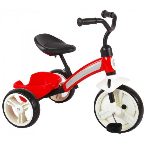 QPlay Elite-Dreirad - Jungen und Mädchen - Rot