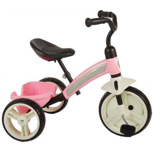 QPlay Elite Dreirad für Mädchen Rosa