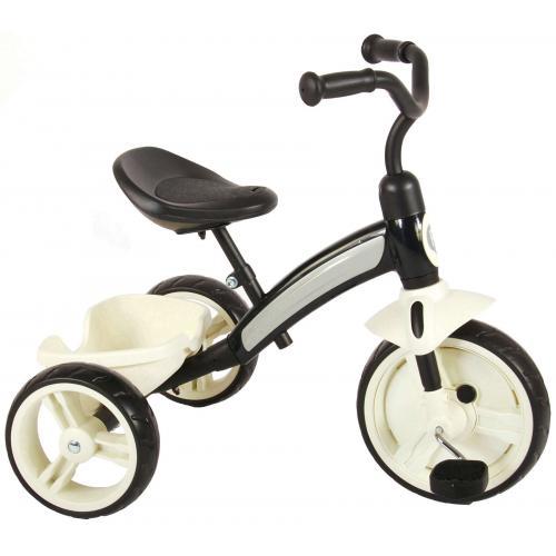 QPlay Elite Dreirad  Jungen und Mädchen Schwarz