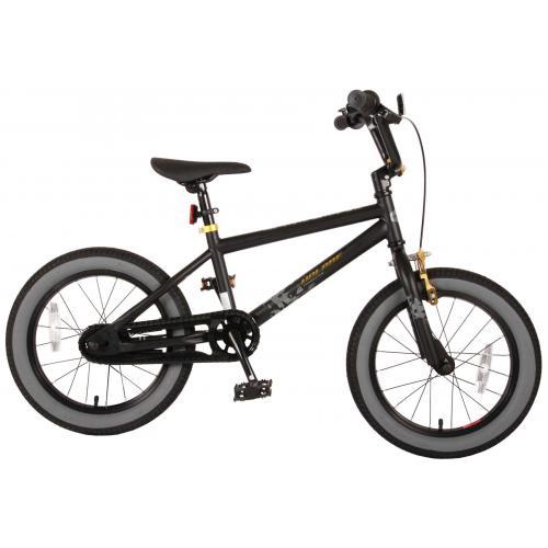 Volare Cool Rider Kinderfahrrad - Jungen - 16 Zoll - Schwarz - 95% zusammengebaut
