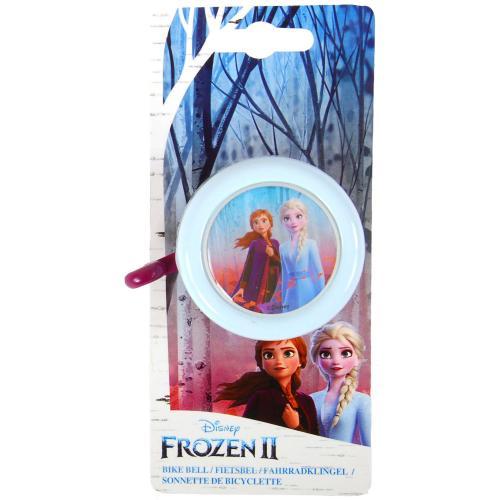 Disney Frozen die Eiskönigin 2 Fahrradklingel - Mädchen - Hell Blau Violett