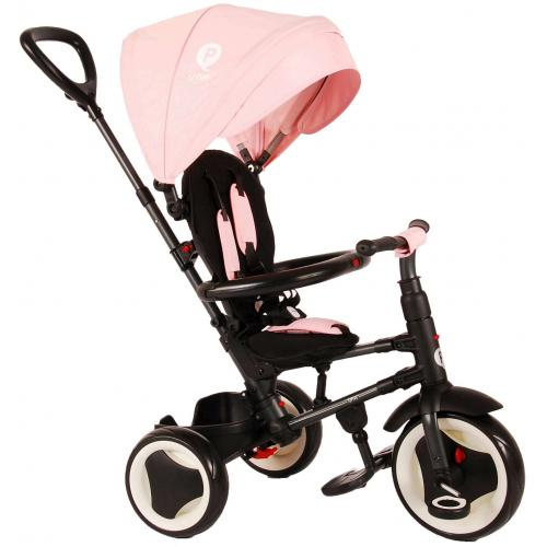 QPlay Dreirad Rito Deluxe Pink 3 in 1