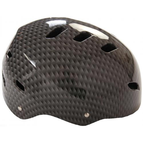 Volare Fahrrad/Skate Helm - Grau - 55-57 cm
