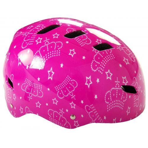 Volare Fahrrad/Skate Helm - Rosa - 55-57 cm