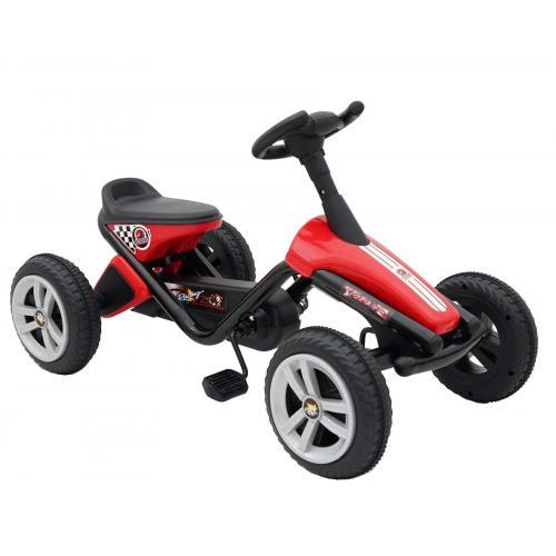 Volare Mini Gokart - Jungen und Mädchen - Rot