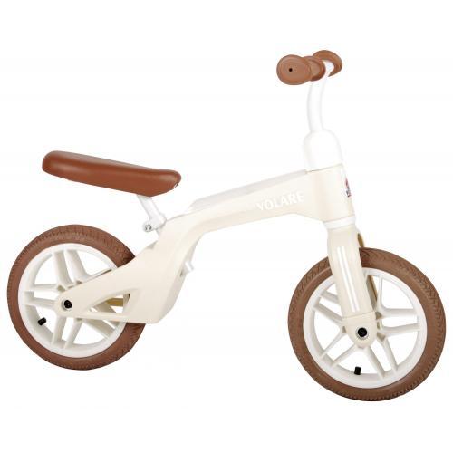 Volare Laufrad - Jungen und Mädchen - 10 Zoll - Creme