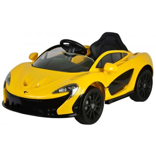McLaren P1 - Gelb - Elektroauto mit Fernbedienung - 12 Volt