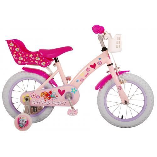 Paw Patrol Kinderfahrrad - Mädchen - 14 Zoll - Rosa