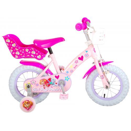 Paw Patrol Kinderfahrrad - Mädchen - 12 Zoll - Rosa