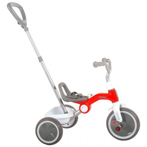 QPlay Dreirad Tenco - Jungen und Mädchen - Rot