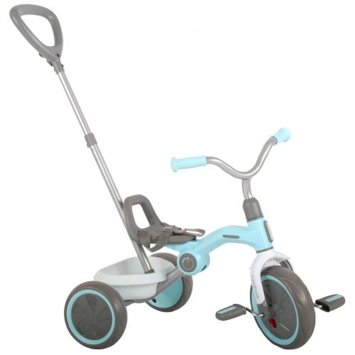 QPlay Dreirad Tenco - Jungen und Mädchen - Pastellblau