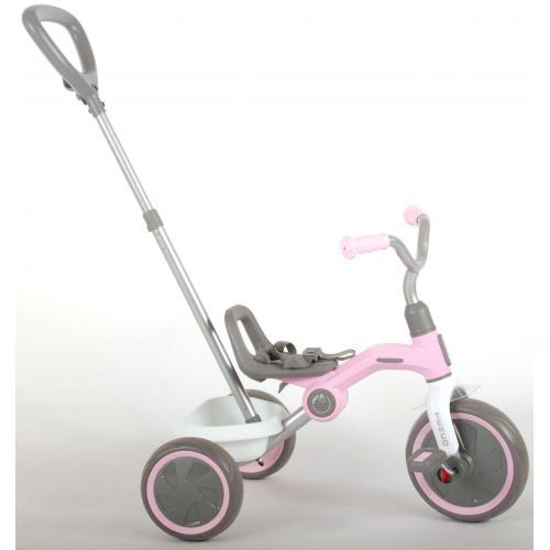 QPlay Dreirad Tenco - Jungen und Mädchen - Pastellrosa