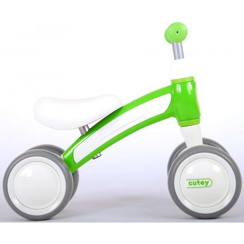 QPlay Cutey Ride On Walking Bike - Jungen und Mädchen - Grün