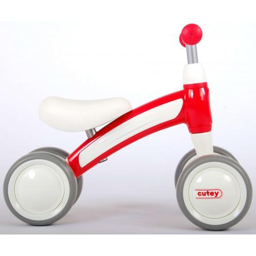 QPlay Cutey Ride On Walking Bike - Jungen und Mädchen - Rot