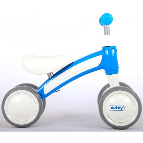 QPlay Cutey Ride On Walking Bike - Jungen und Mädchen - Blau