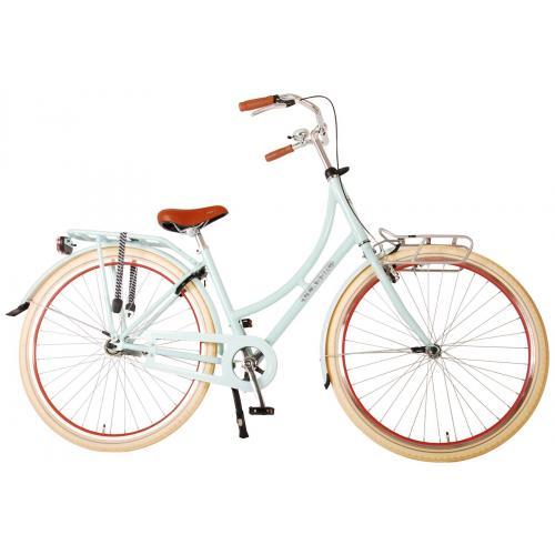 Volare Classic Oma Damen Fahrrad - 45 Zentimeter - Pastellblau