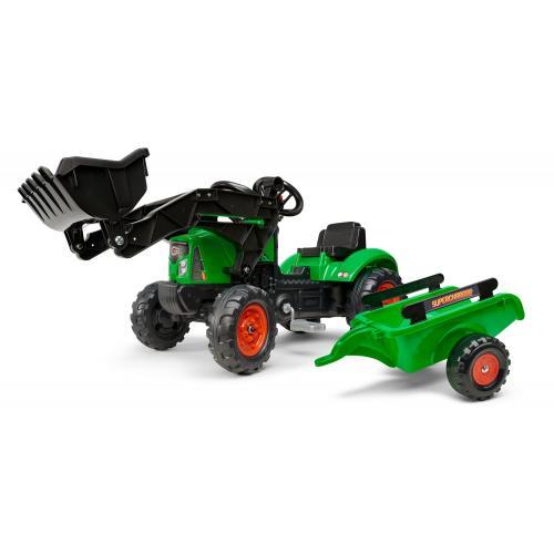 Falk Supercharger - Grün - Traktor - Jungen [CLONE]