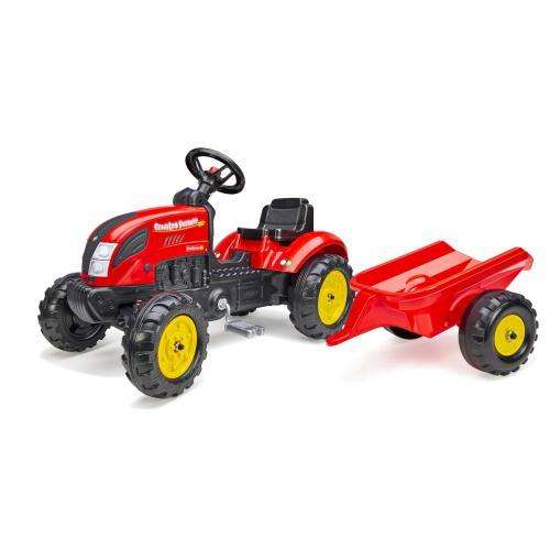 Falk Country Farmer - Jungen - Rot - Traktor