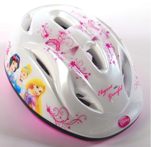 Disney-Fahrradhelm Prinzessin - Weiß Rosa - 51-55 cm