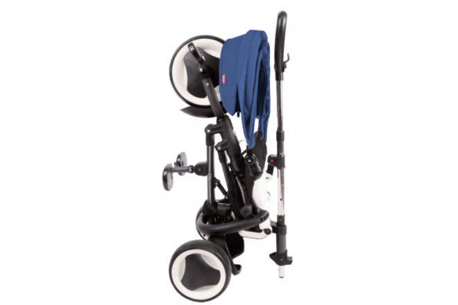 QPlay Dreirad Rito 3 in 1 - Jungen und Mädchen - Blau - Deluxe