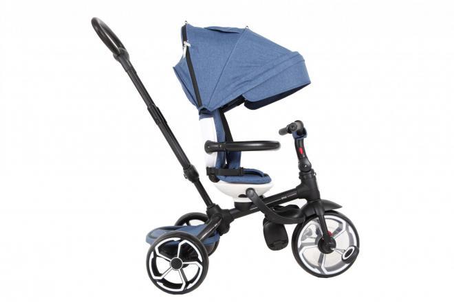 Qplay Dreiräder Prime 6 in 1 - Jungen und Mädchen - Blau