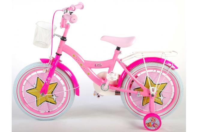 LOL Surprise 16 Zoll Mädchen Fahrrad