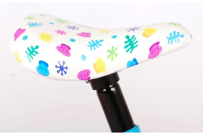 Baby Shark Kinderfahrrad - Unisex - 10 Zoll - Rosa Blau