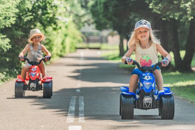 Falk Racing Team Quad - Jungen - Blau