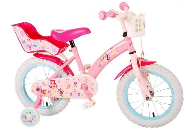 Disney Princess Kinderfahrrad - Mädchen - 14 Zoll - Pink [CLONE]
