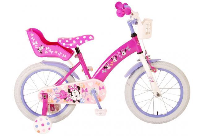 Disney Minnie Cutest Ever Kinderfahrrad - Mädchen - 16 Zoll - Pink