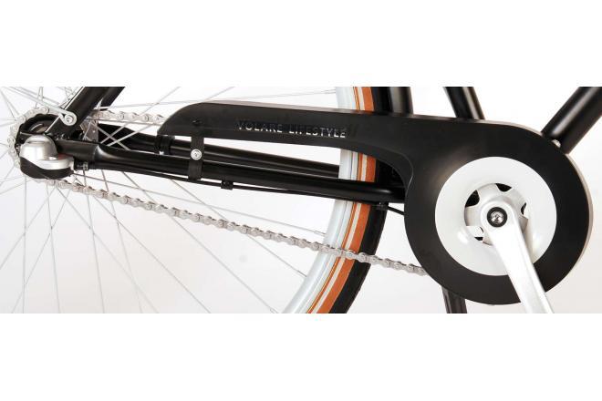 Volare Lifestyle Herrenfahrrad - Mann - 28 Zoll - 48 Zentimeter - Schwarz - Shimano Nexus 3 Gänge