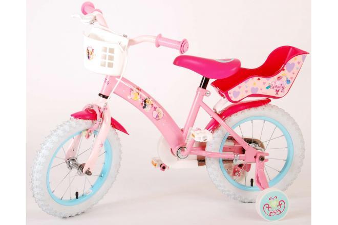 Disney Princess Kinderfahrrad - Mädchen - 14 Zoll - Pink