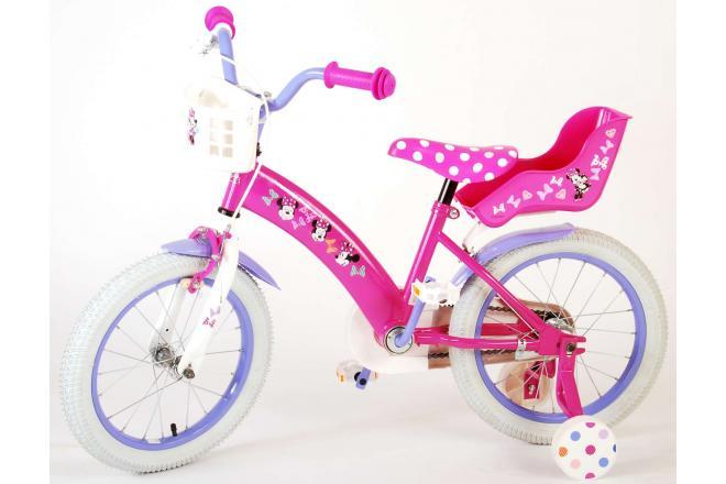 Disney Minnie Cutest Ever! Kinderfahrrad - Mädchen - 16 Zoll - Pink