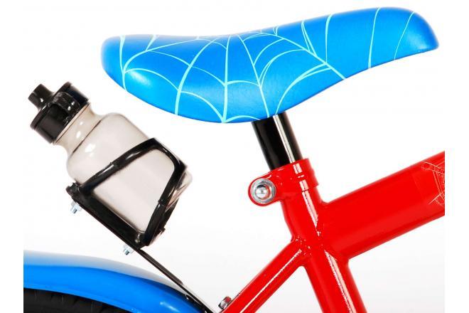 Ultimate Spider-Man Kinderfahrrad - Jungen - 14 Zoll - Rot Blau