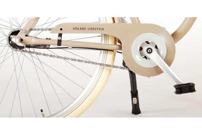 Volare Lifestyle Damenrad - Damen - 48 Zentimeter - Sand - Shimano Nexus 3 Gänge